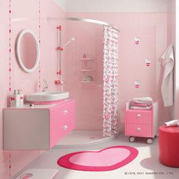 meuble salle de bain kitty