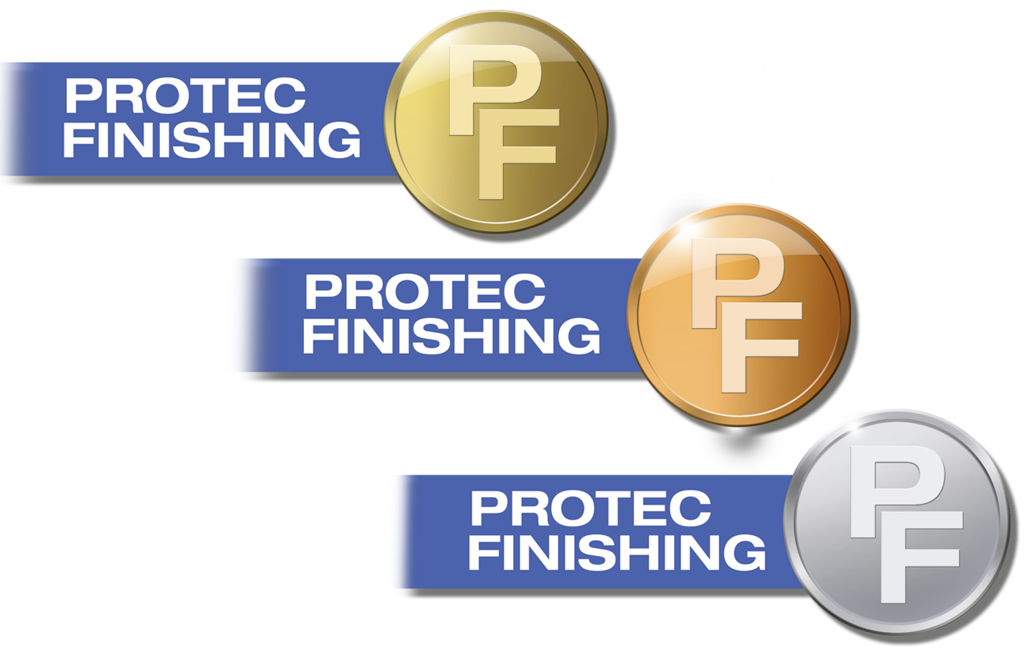 logo PROTEC FINISHING : Le nec plus ultra de la protection